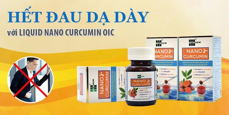 Nano curcumin hết đau dạ dày!