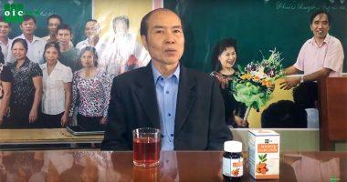 Bác Thuận ung thư đại tràng, sức khoẻ tốt lên khi dùng Nano Curcumin OIC!