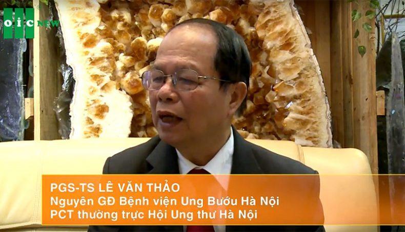 PGS. TS Lê Văn Thảo đánh giá Nano Curcumin
