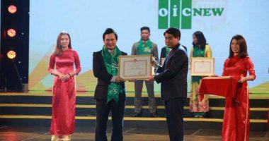 OIC New doanh nghiệp có thành tích xuất sắc năm 2017