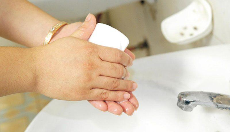rửa tay phòng vi khuẩn hp