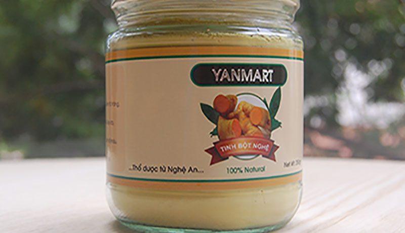 Tinh bột nghệ Yammart - Nghệ An: