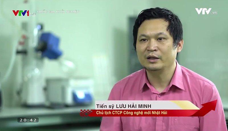 Tiến Sĩ Lưu Hải Minh trả lời phỏng vấn trên sóng truyền hình!