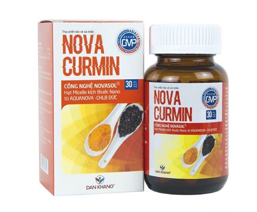 Viên uống Novacumin phù hợp cho người bị đau và viêm loét dạ dày